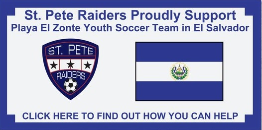 Raiders Helping Support El Salvador Youth Soccer Team
